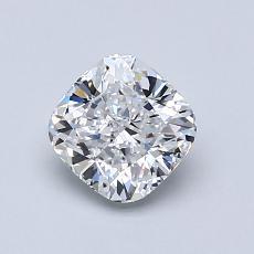 1.01 Carat 垫形 Diamond 非常好 D VVS1