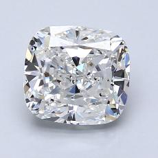 2.02-Carat Cushion Diamond Very Good E VS2