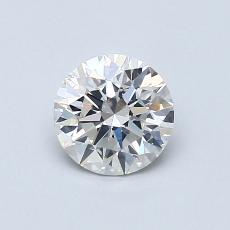 0.74 Carat 圆形 Diamond 理想 G SI1