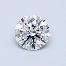 0.71 Carat Redondo Diamond Ideal D VVS1