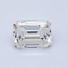 Piedra recomendada 1: Diamante de talla esmeralda de 0.91 quilates