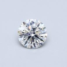 0.43 Carat 圆形 Diamond 理想 F SI1