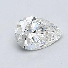 推薦鑽石 #2: 0.83 克拉梨形鑽石