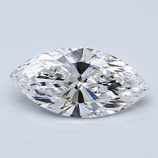 0.77-Carat Marquise Diamond Very Good D IF