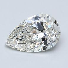 Target Stone: 2.51-Carat Pear Cut Diamond