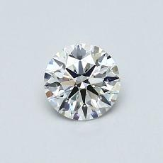 0.52-Carat Round Diamond Ideal G VS2