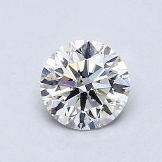 0.75 Carat 圓形 Diamond 理想 H SI1