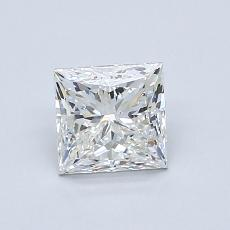 0.90-Carat Princess Diamond Very Good G VS1