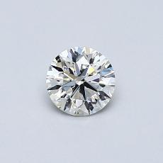 推薦鑽石 #3: 0.39 克拉圓形切割鑽石