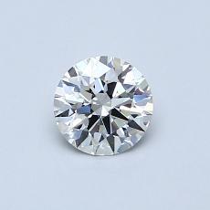 0.51 Carat 圓形 Diamond 理想 G VVS1