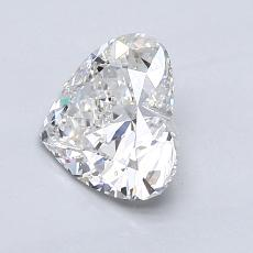 Recommended Stone #2: 1.17-Carat Heart Cut Diamond