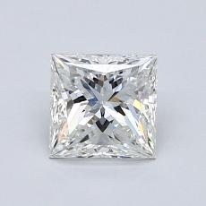 1.01-Carat Princess Diamond Very Good G VS1