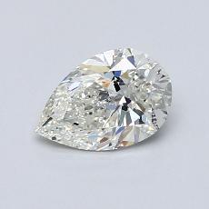 0.70 Carat 梨形 Diamond 非常好 I SI2