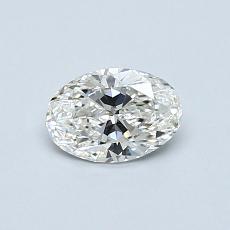 0.50 Carat 椭圆形 Diamond 非常好 G VS2
