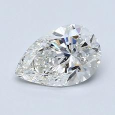 1.00-Carat Pear Diamond Very Good H VS2