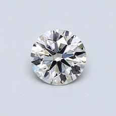 0.53 Carat 圆形 Diamond 理想 I VS1