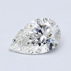 Recommended Stone #3: 0.91-Carat Pear Cut Diamond