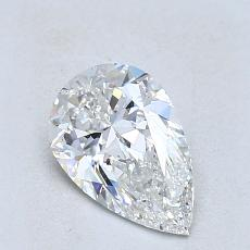 Recommended Stone #2: 1,01-Carat Pear Cut Diamond