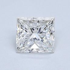 推荐宝石 1:0.91 克拉公主方形钻石