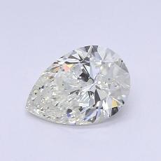 0.61-Carat Pear Diamond Very Good J VS1