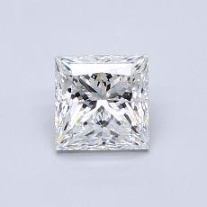推荐宝石 1:0.70 克拉公主方形钻石