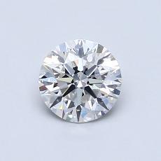 0.70 Carat 圆形 Diamond 理想 F VS2
