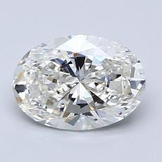 推荐宝石 4:1.52克拉椭圆形切割钻石