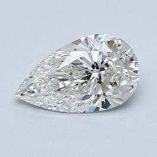 Recommended Stone #3: 0.85-Carat Pear Cut Diamond