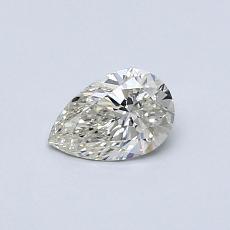 Piedra recomendada 1: Diamante en forma de pera de0.40 quilates