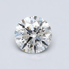 0,80-Carat Round Diamond Ideal H VS2