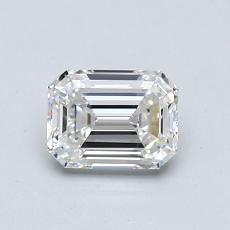 推薦鑽石 #1: 0.71  克拉綠寶石形切割鑽石