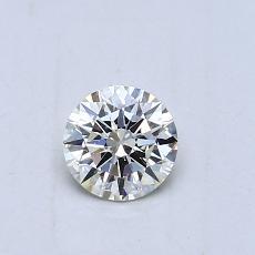 推薦鑽石 #3: 0.43 克拉圓形切割鑽石