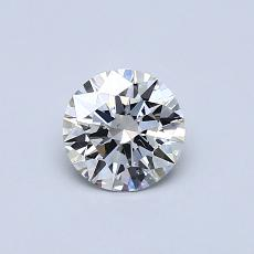Recommended Stone #2: 0,54-Carat Round Cut Diamond