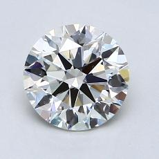 Piedra recomendada 1: Talla redonda de 1.30 quilates