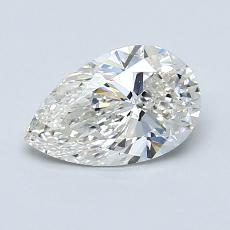 0,92-Carat Pear Diamond Very Good G VS2