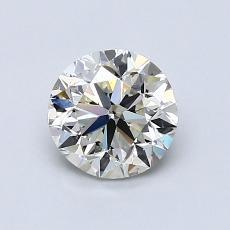 1.01 Carat 圆形 Diamond 良好 K SI1