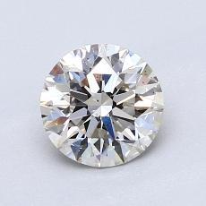 1.05 Carat 圆形 Diamond 理想 J VS2