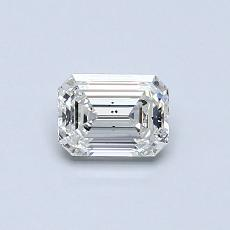 Recommended Stone #3: 0.51-Carat Emerald Cut Diamond