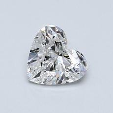 Recommended Stone #4: 0,70-Carat Heart Cut Diamond