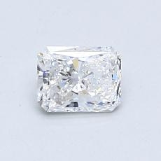 0.53-Carat Radiant Diamond Very Good D IF