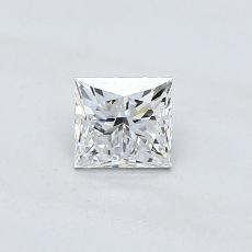 Recommended Stone #3: 0.49-Carat Princess Cut Diamond