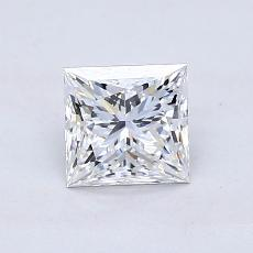 Recommended Stone #2: 0.92-Carat Princess Cut