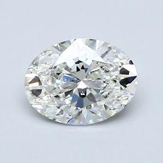 Recommended Stone #4: 0.91-Carat Oval Cut Diamond