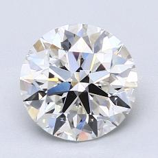 2.01-Carat Round Diamond Ideal G VVS1