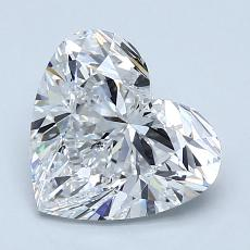 Recommended Stone #1: 2.01-Carat Heart Cut Diamond