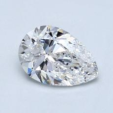 Recommended Stone #1: 0.90-Carat Pear Cut Diamond