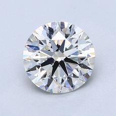 1,19-Carat Round Diamond Ideal I VVS2