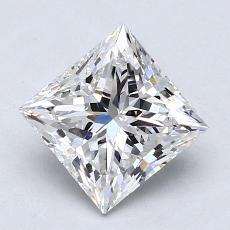 1.51-Carat Princess Diamond Very Good F VVS2