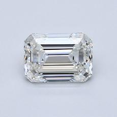 Pierre recommandée n°2: Diamant taille émeraude 0,90 carat