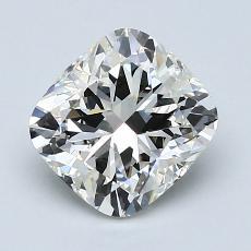 Pierre recommandée n°3: Diamant taille coussin 1,71 carats